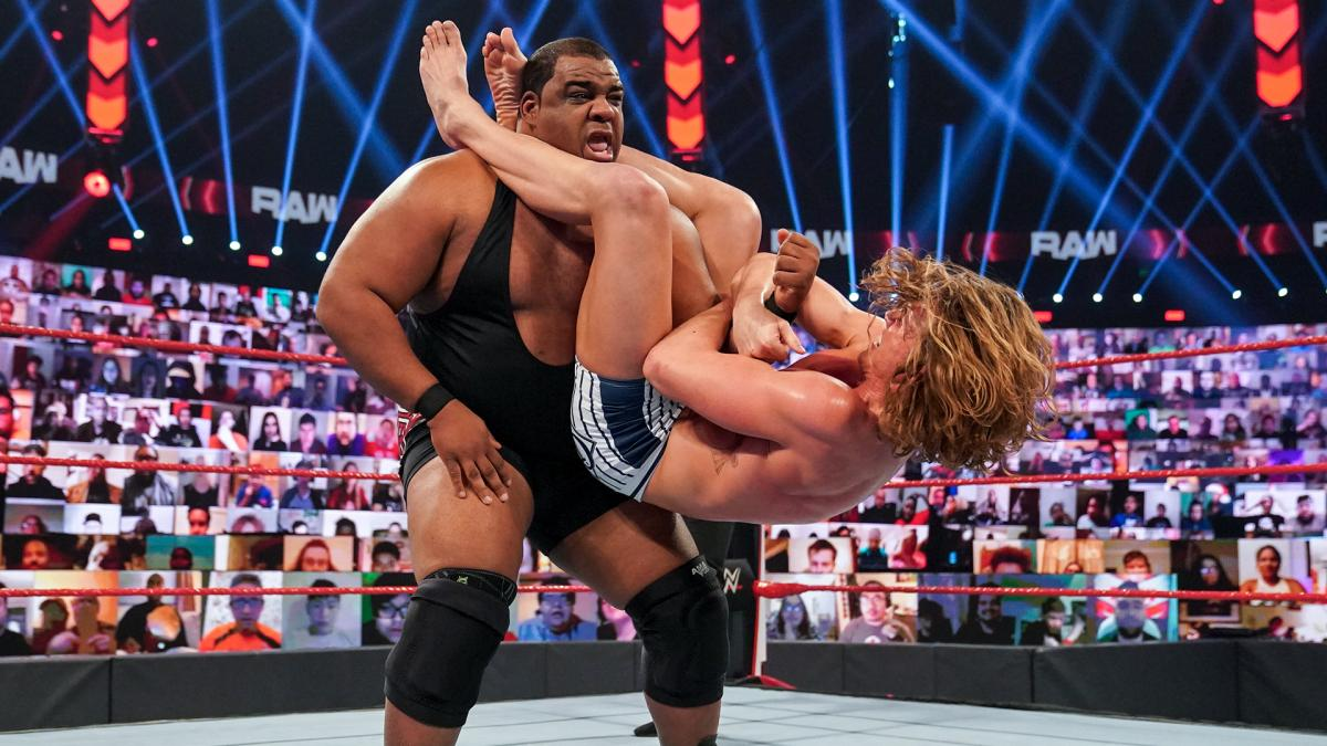 Keith Lee and Matt Riddle on WWE RAW
