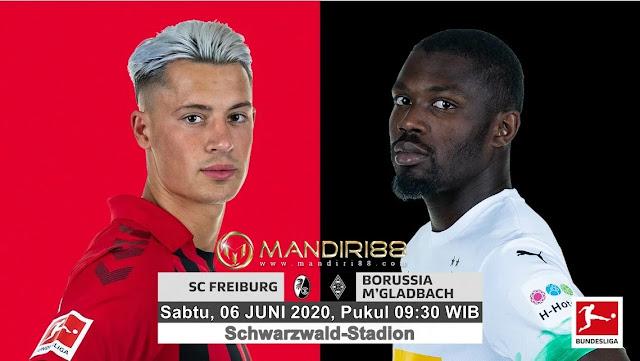Prediksi SC Freiburg Vs Borussia Monchengladbach, Sabtu 06 Juni 2020 Pukul 01.30 WIB @ Mola TV