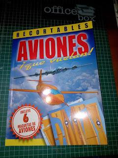 libro de aviones recortables que vuelan