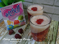 Resep Puding Strawberry Creamy