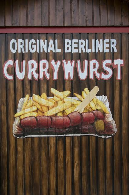 Murales del currywurst-Berlino