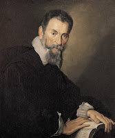 Claudio Monteverdi ritratto da Bernardo Strozzi