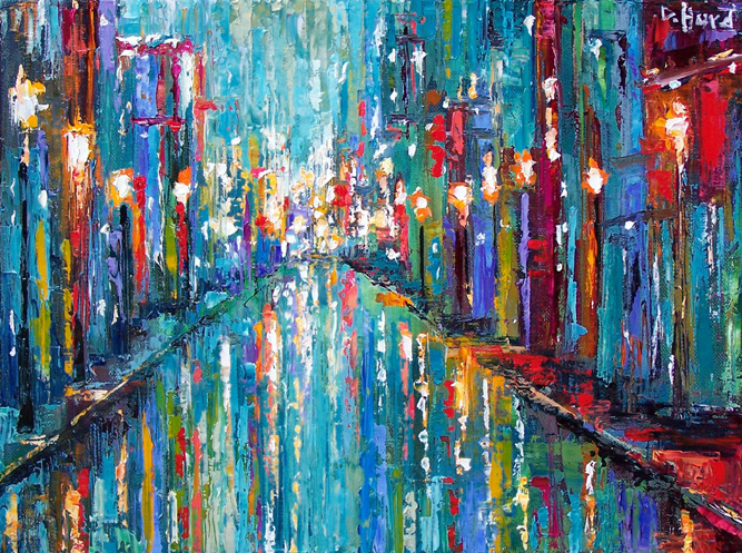 Debra Hurd Original Paintings AND Jazz Art: Abstract ...