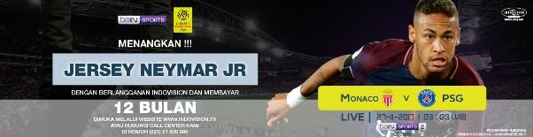 Promo Paket Soccer Plus Berhadiah Jersey PSG