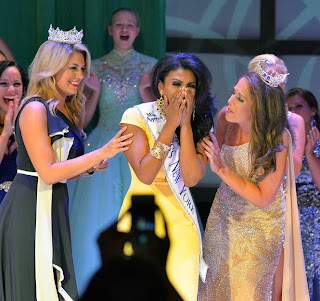 Miss New York Nina Davuluri crowned as Miss America 2014