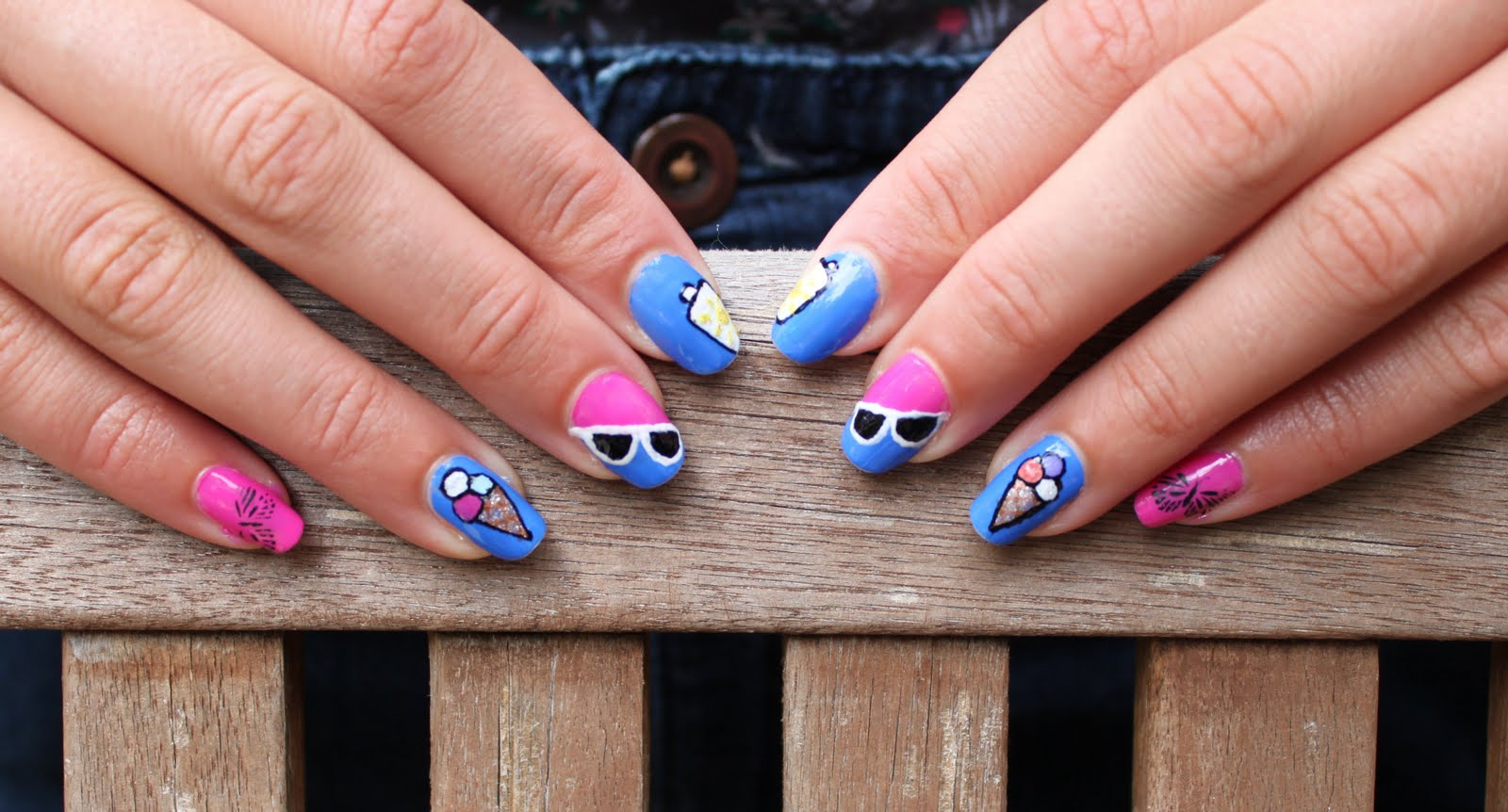 Crazy About Nails: Vacation nails