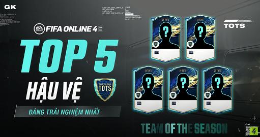FIFA ONLINE 4 | Top 5 hậu vệ xuất sắc hoàn hảo đáng dùng nhất trong mùa thẻ 21 TOTS