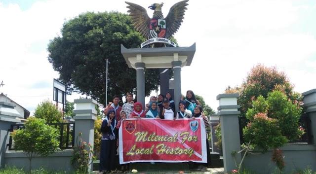 Study Club Sejarah SMAGA, Kunjungi Monumen dan Tugu