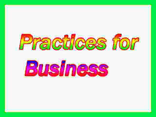 Practices for Business