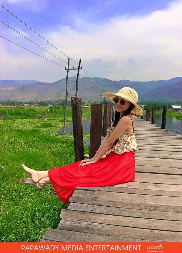 Thinzar Nwe Win And Happy Trip To Inn Lay in Shan State ,Myanmar
