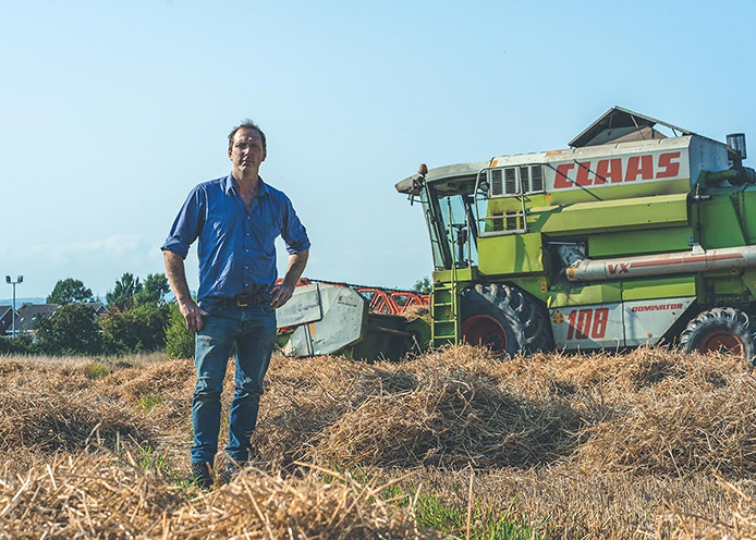 Harvesting with John