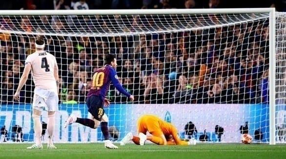 برشلونة يجدد فوزه على مانشستر يونايتد ويبلغ نصف نهائي دوري الأبطال