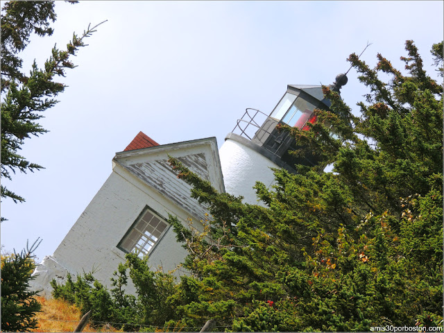 Bass Harbor Head Lighthouse en el Parque Nacional Acadia