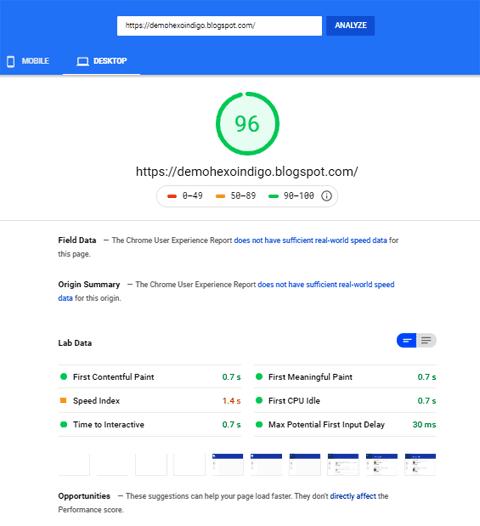 HexoIndigo Responsive Blogger Template [Premium Free]