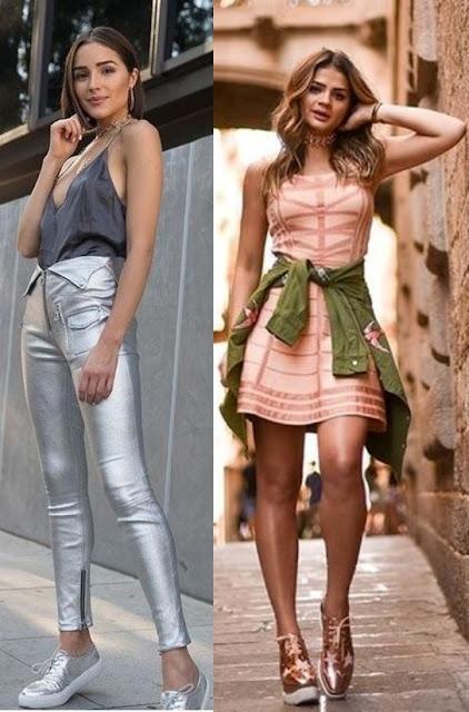 Como usar brilho - Looks Inspiração, Olivia Culpo, Thássia Naves