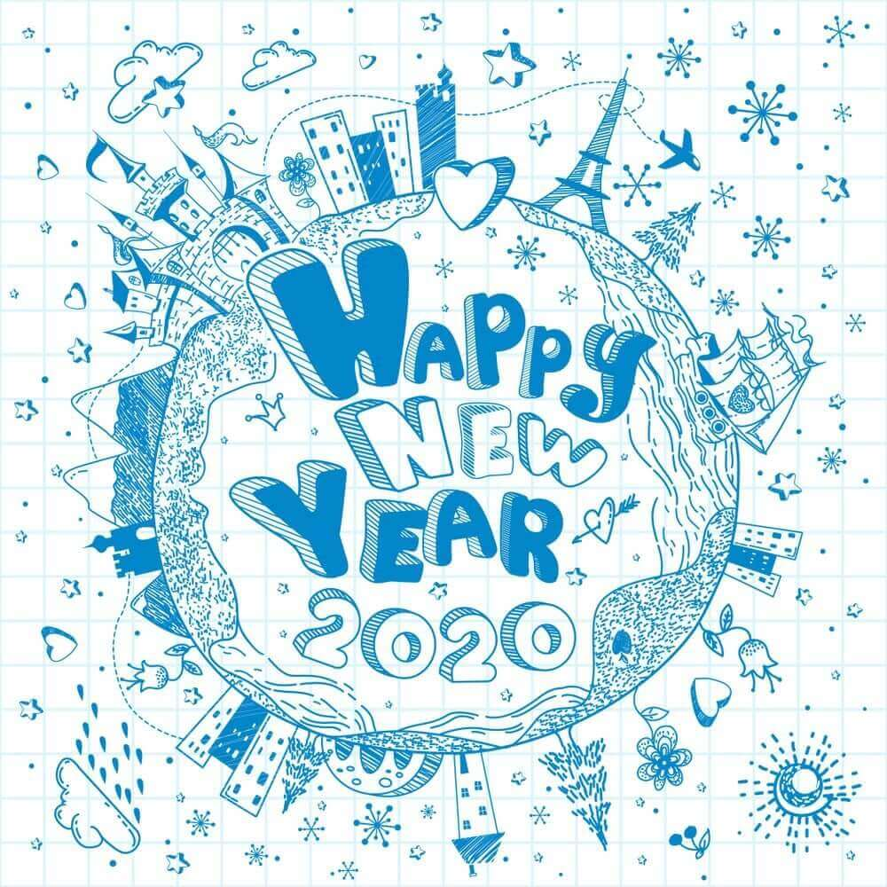 images happy new year 2020