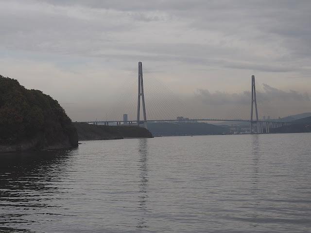Владивосток, Русский мост (Vladivostok, the Russian bridge)