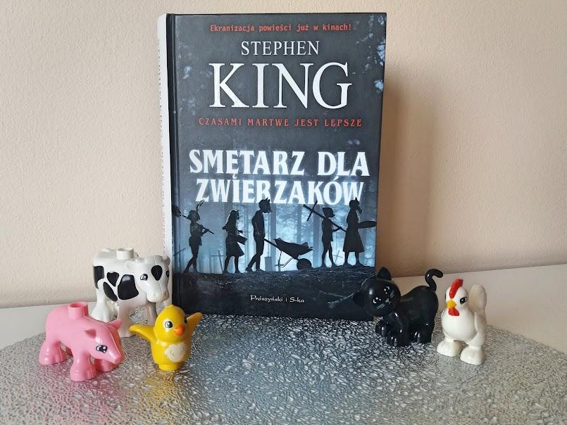 """Totalne rozczarowanie: """"Smętarz dla zwierzaków"""" - Stephen King"""