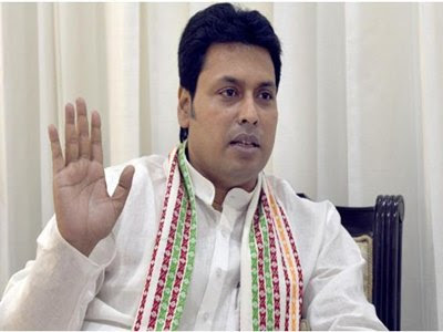 sharing Facebook post on Biplab Deb Journalist cop arrested