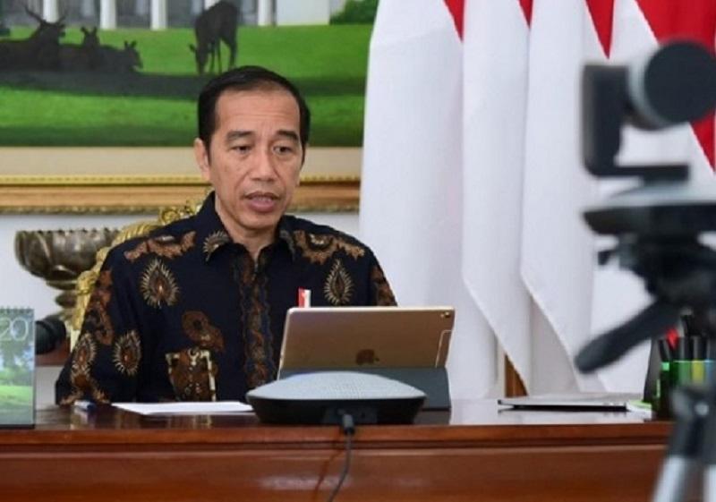 Tangani Covid-19, Presiden Jokowi Sebut Pemerintah Tak Bisa Kerja Sendirian