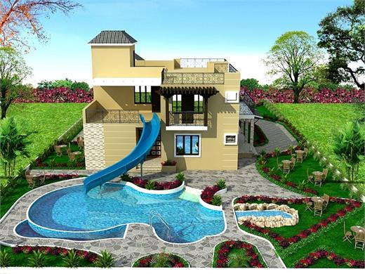 Kalewadi Pune Bungalow House Design