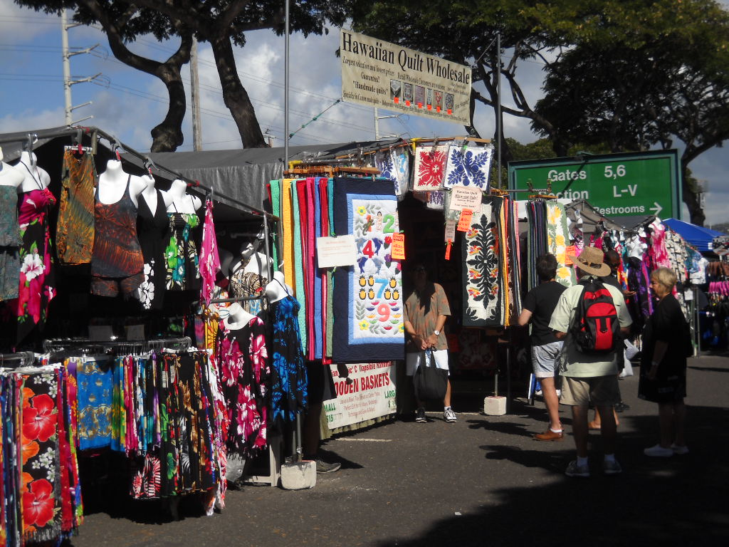 honolulu swap meet quilts