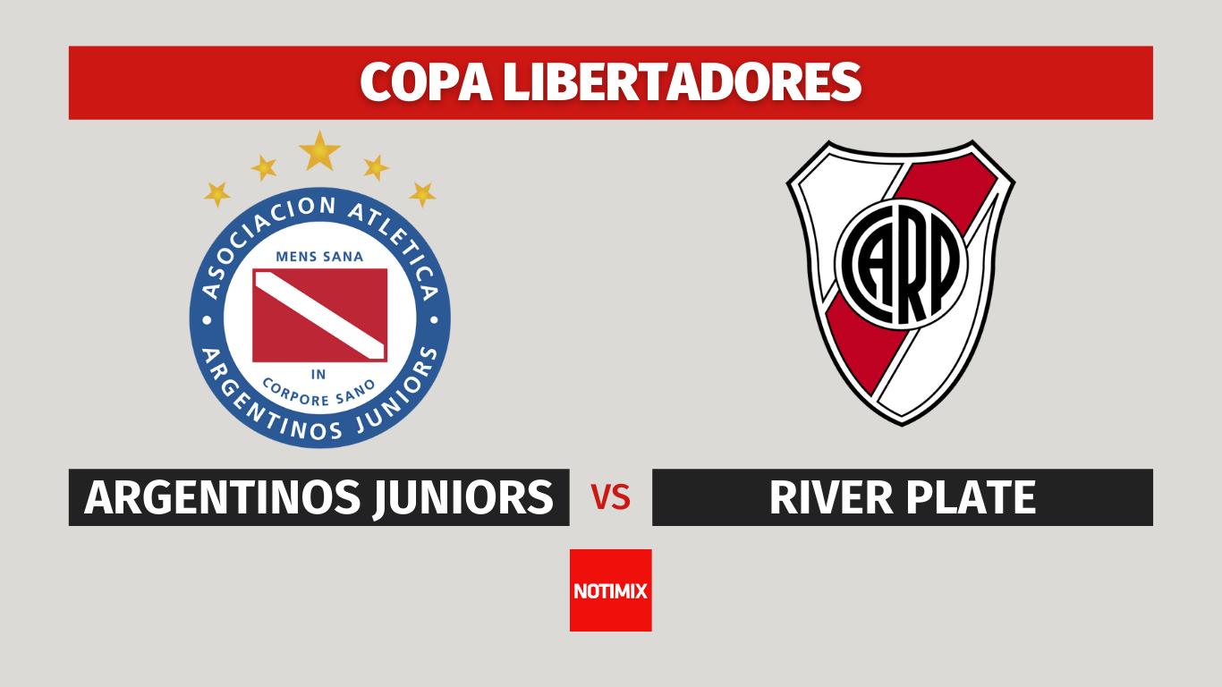 EN VIVO: River busca el pase a cuartos de final de la Libertadores ante Argentinos en La Paternal