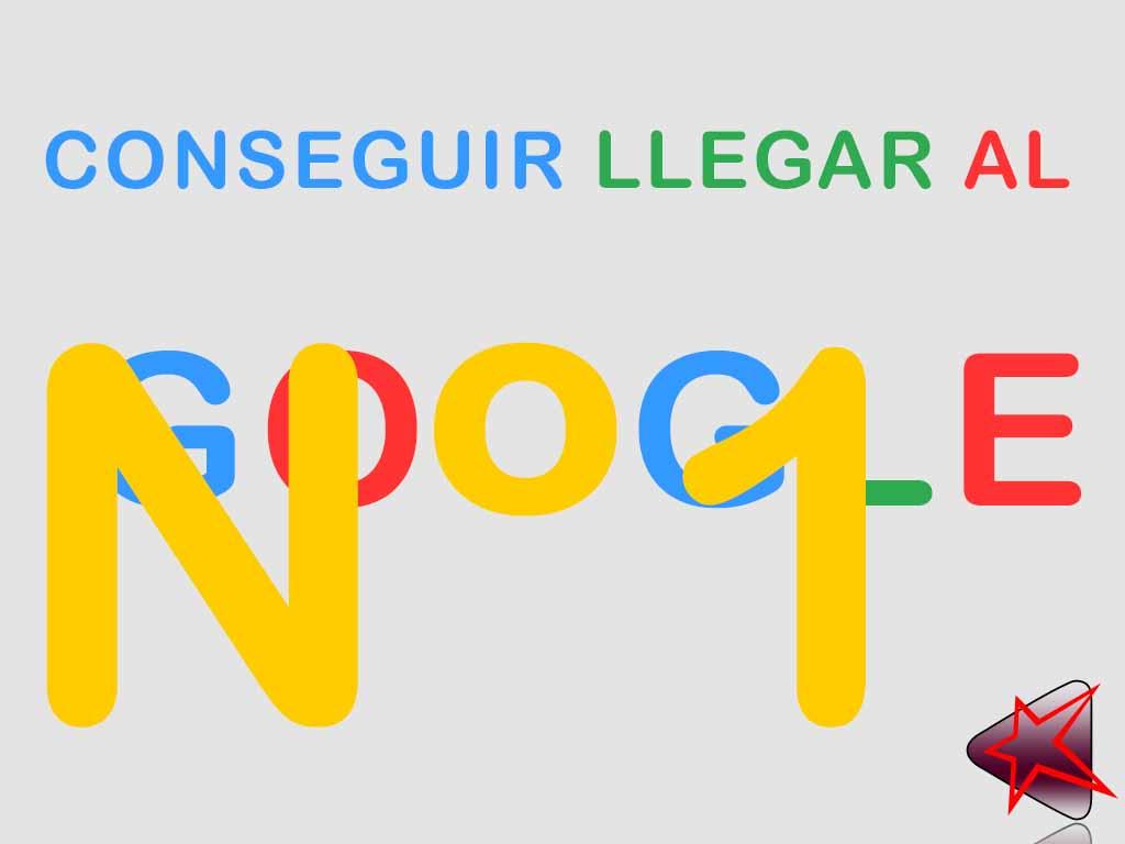 Conseguir el número 1 de Google
