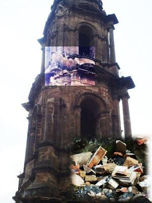 Torre del Templo de San Juan Parangaricutiro
