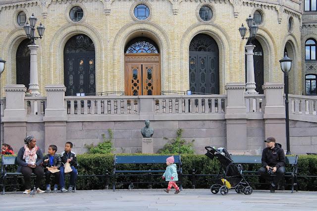Karl Johan parlamenttitalo Oslo