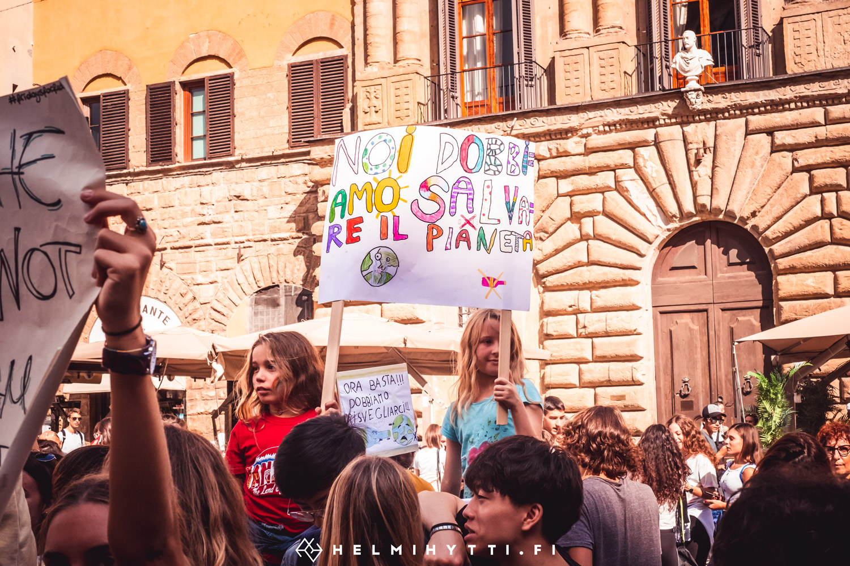 id-ilmasto-mielenosoitus-firenze