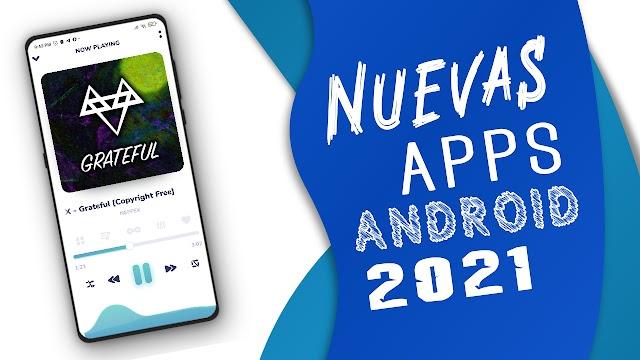 TOP 5 ▶NUEVAS MEJORES APPS PARA ANDROID 2021!!!