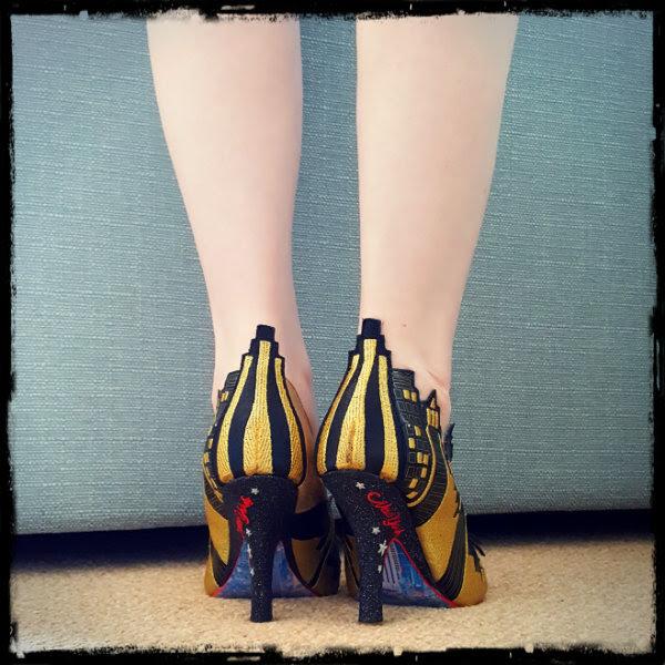wearing irregular choice ashbury skies new york heels