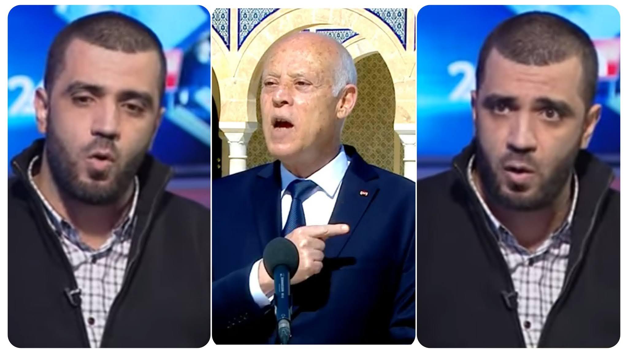 بالفيديو على المباشر راشد الخياري : قيس سعيد دمية بيد نادية عكاشة و جروو متاعها