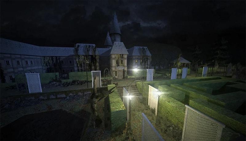 تحميل لعبة الرعب halls of madness للاندرويد