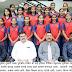 जिल्हास्तरीय फुटबॉल स्पर्धेत मुलींचा संघ अजिंक्य
