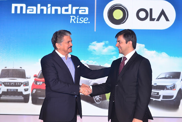 Anand Mahindra - Chairman, Mahindra Group  AND Bhavish Aggarwal - Co-Fou...