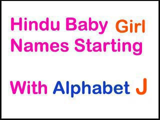 Modern Hindu Baby Girl Names Starting With J In Sanskrit