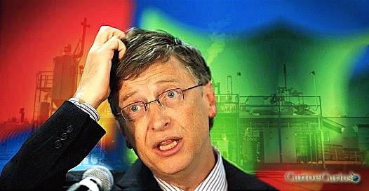 Bill Gates bebe água tirada de fezes em seu novo projeto tecnológico
