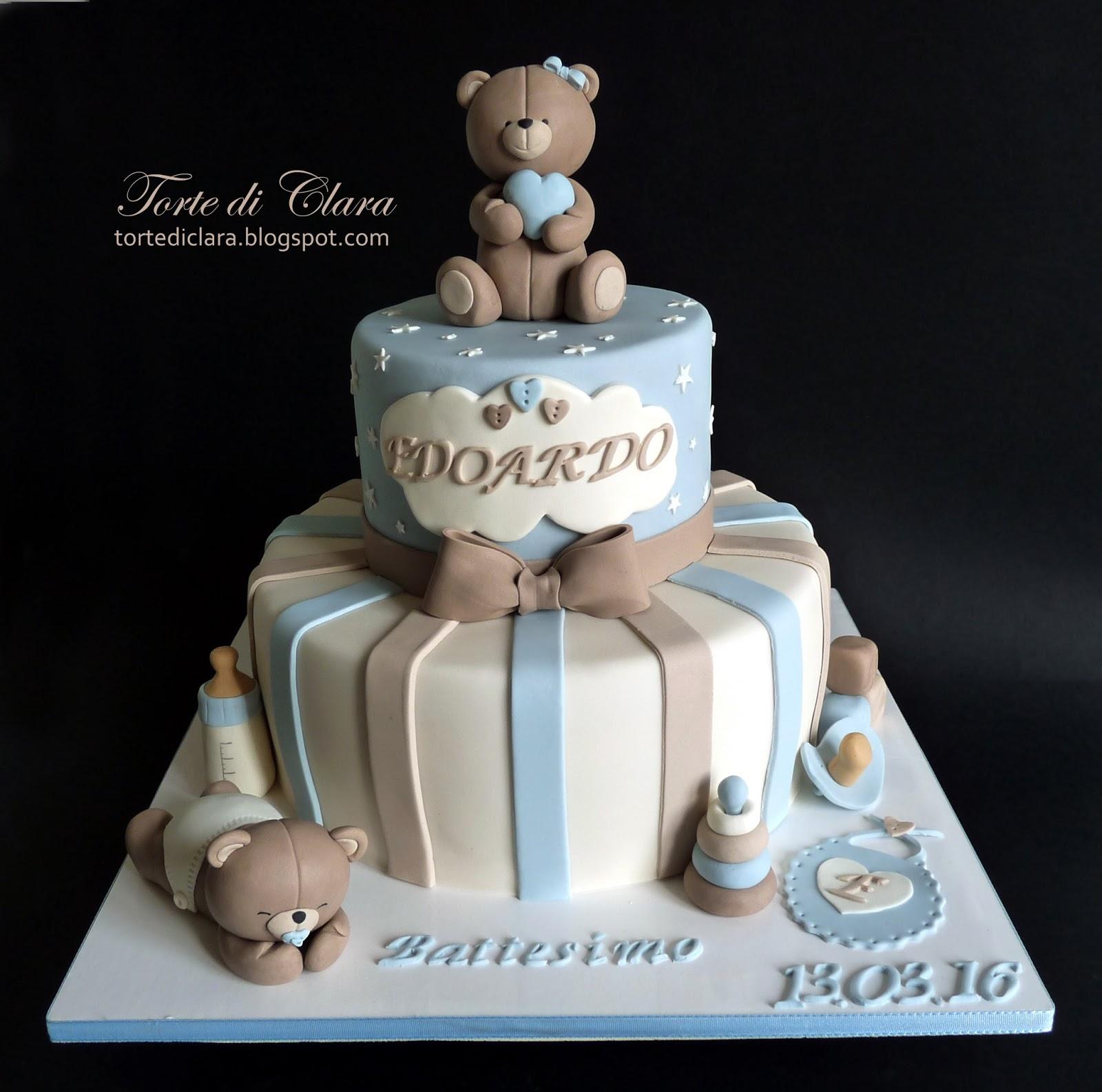 Bien-aimé Torte di Clara: Torta Battesimo (17) ZR95