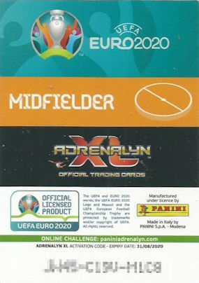 Panini Adrenalyn XL UEFA Euro em 2020 mini Tin box Limited Edition