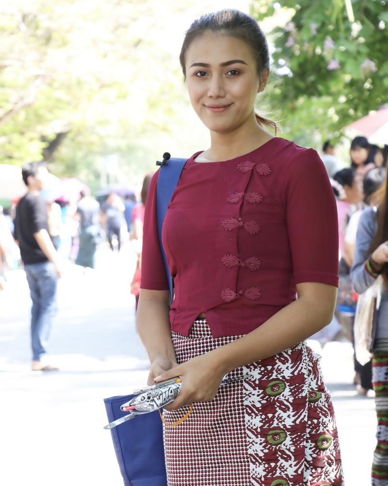alis indah dan tebal artis Myanmar Sharr Htut Eaindra