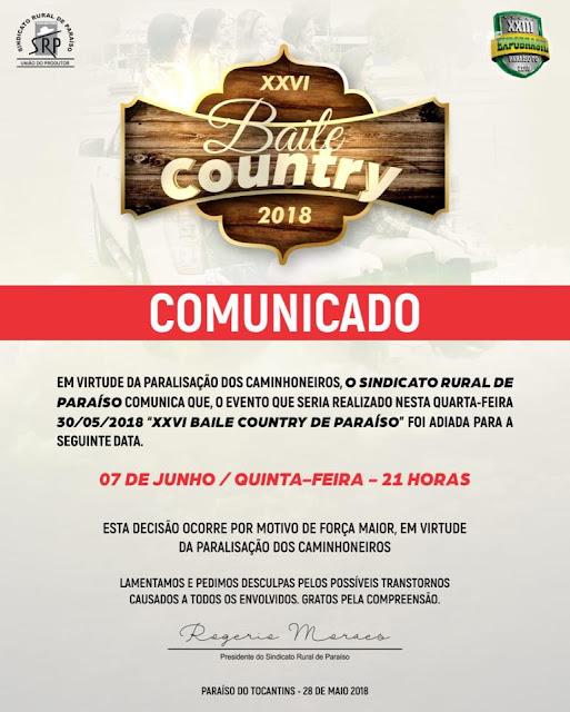 BAILE COUNTRY ADIADO