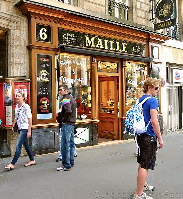 Shopping at the Maille boutique in Paris: Is it caviar or