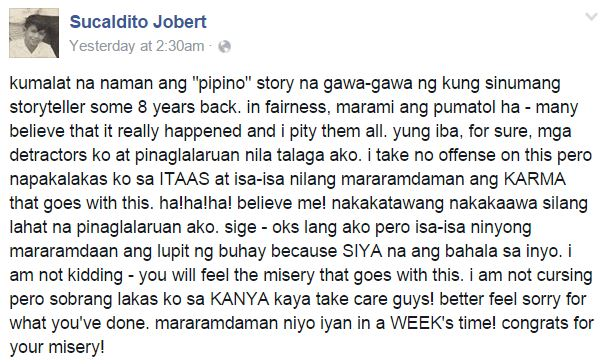 """The truth behind Jobert Sucaldito's viral """"cucumber"""" story was finally REVEALED!"""