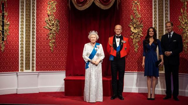 """متحف """"مدام توسو"""" يعلن عن إزالة تمثالي ميغان وهاري من مجموعة العائلة الملكية"""