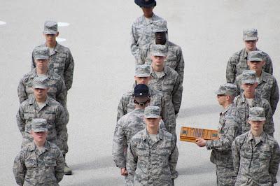 Air Force Wife Life: BMT Graduation – Megan Voegele
