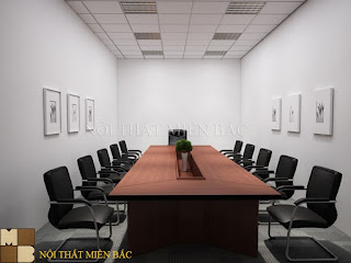 Ghế phòng họp chân quỳ tạo không gian phòng họp chuyên nghiệp, sang trọng