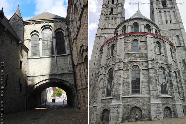 Notre Dame Cathedral Tournai Belgium Architecture