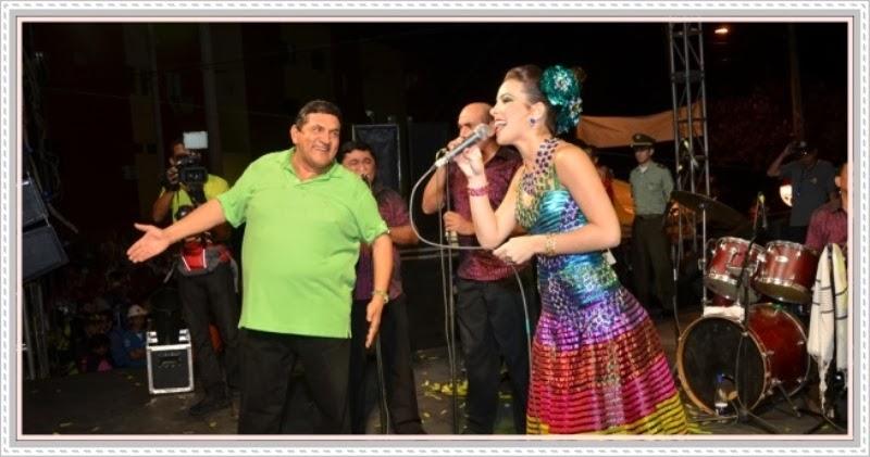 Presentación de Poncho Zuleta como la cuota vallenata en el carnaval
